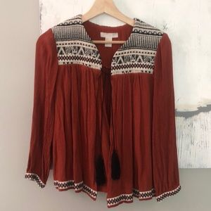 H&M Tribal Accent Cardigan